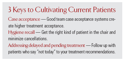 3 Keys to Cultivating Current Patients