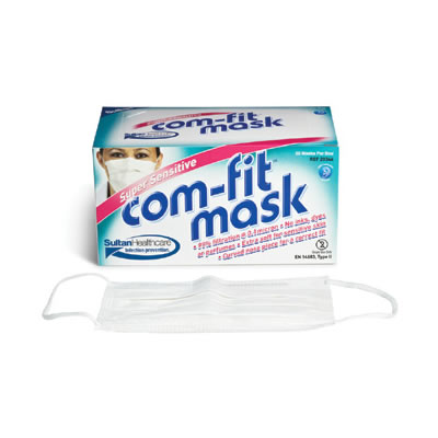 COM-FIT Super Sensitive Face Masks
