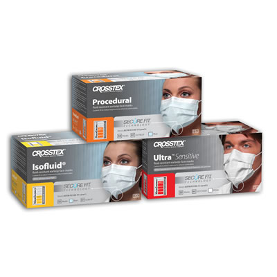 Crosstex SecureFit Face Masks