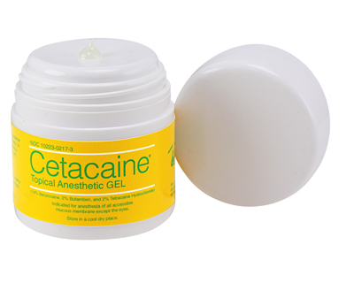 Cetacaine Topical Anesthetic Gel Pump-Top Jar
