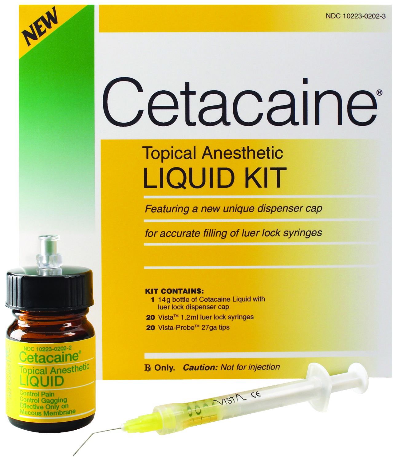 Cetacaine Topical Anesthetic Liquid Kit