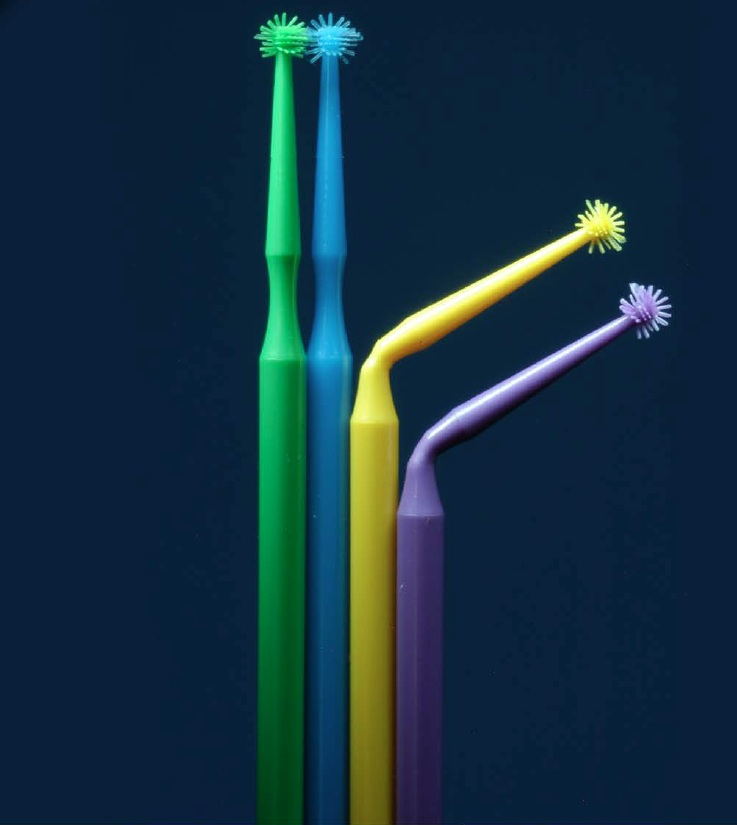 Denbur Pure-Brush Disposable Fiber-Free Applicator