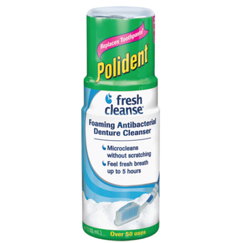 Fresh Cleanse Antibacterial Foaming Denture Cleanser