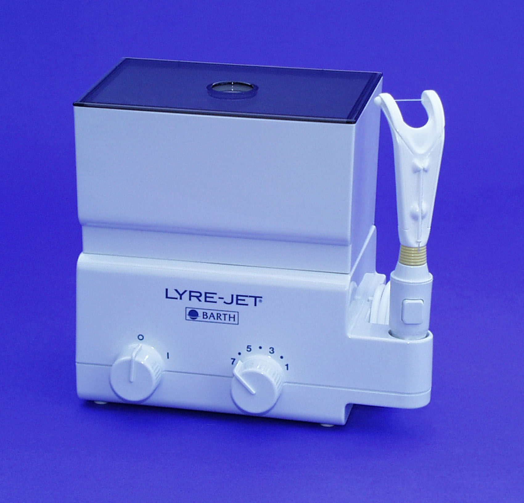Lyre-Jet Power Flosser