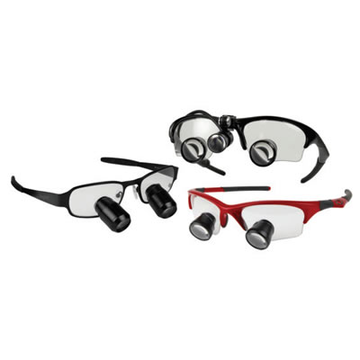 Surgitel MicroLine Loupes and Micro LED Headlight