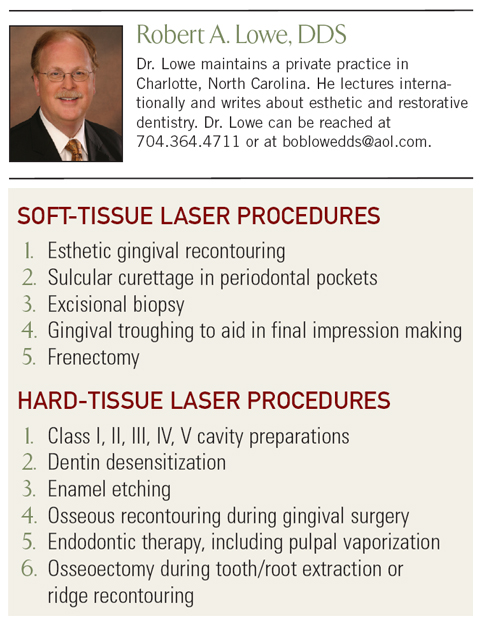 Robert A. Lowe DDS - Laser Procedures