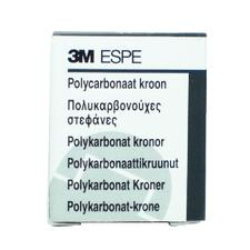 Polycarbonate Prefabricated Crown Refills, 5/:Pkg