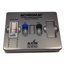 Achromat Esthetic Fiber Post System- Intro Kit