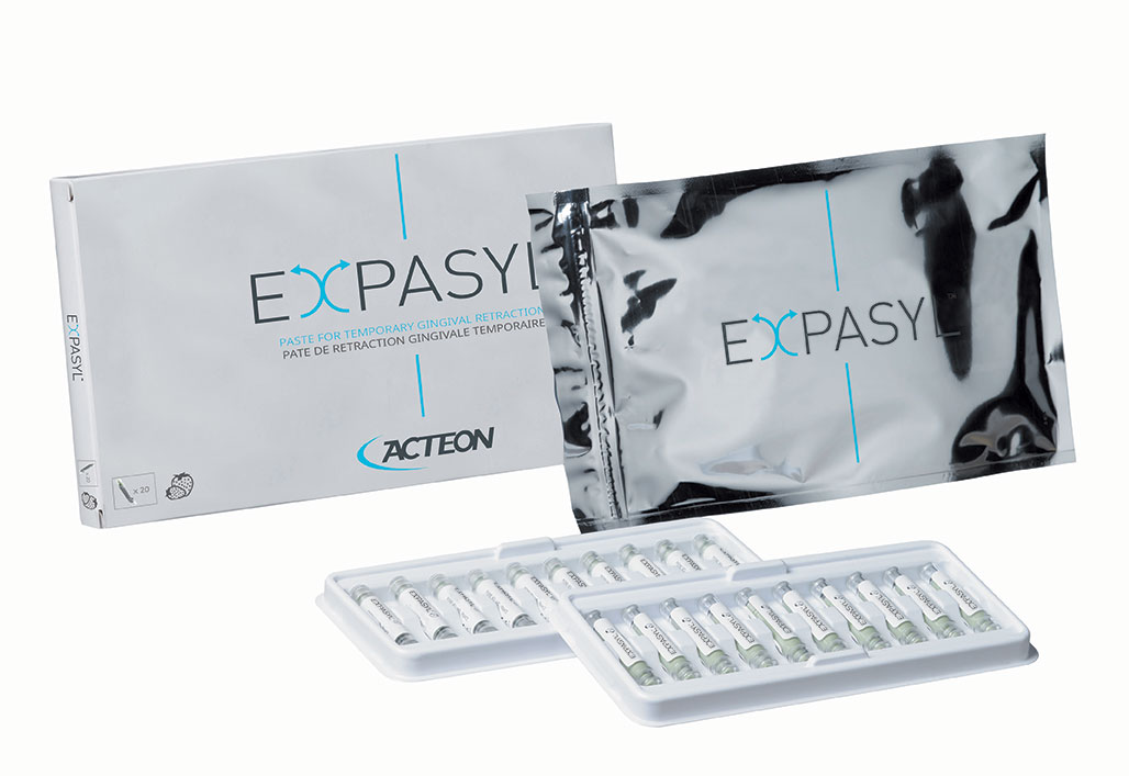 Expasyl™ Temporary Gingival Retraction System – Strawberry Refill, Capsules (1 g), 20/:Pkg