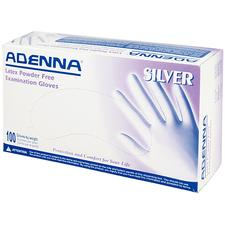 Adenna Silver Latex Powder-Free Exam Glove