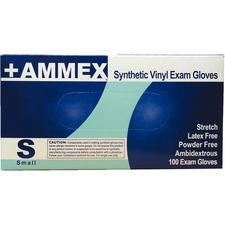 +AMMEX Powder Free, Stretch Vinyl Gloves
