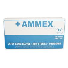 +AMMEX® Latex Gloves - 100/:Box - Extra Small