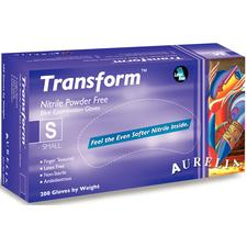 Aurelia Transform Latex-Free Gloves, 200/:Box