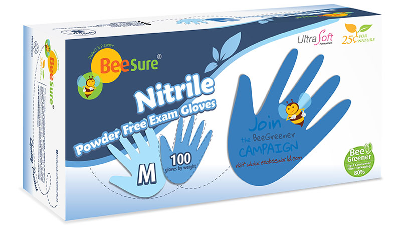 BeeSure Powder Free Nitrile