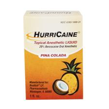 Hurricaine® Topical Anesthetic - 1 oz Liquid - Pina Colada