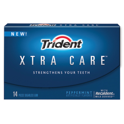 Trident Xtra Care with Recaldent