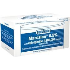 Cook-Waite Marcaine® 0.5% with epinephrine 1:200,000 Injection (as bitartrate) (bupivacaine hydrochloride and epinephrine injection, USP)