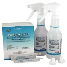 ProSpray C-60 Concentrated Surface Disinfectant and Holding Solution- Intro Kit
