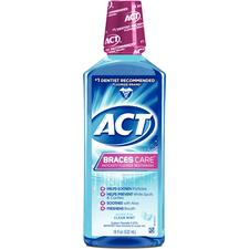 ACT® Braces Care Anticavity Mouthwash - 1 oz Bottle
