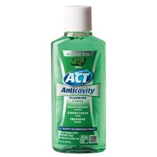 ACT® Alcohol Free Anticavity Fluoride Rinse- 1 oz Bottle, Mint, 48/:Pkg