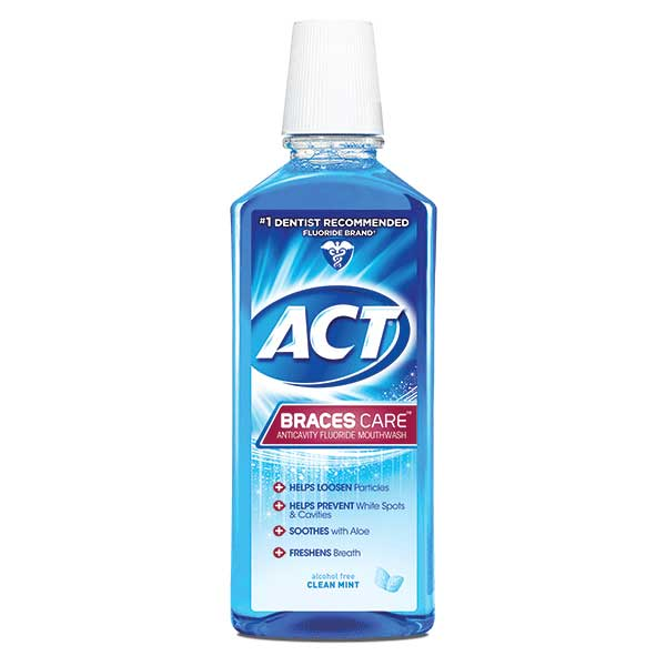 ACT® Braces Care Anticavity Mouthwash
