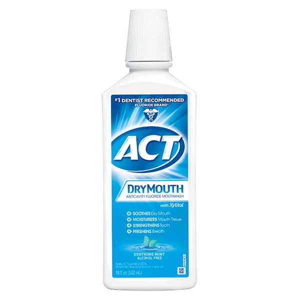 Dry Mouth Anticavity Fluoride Mouthwash