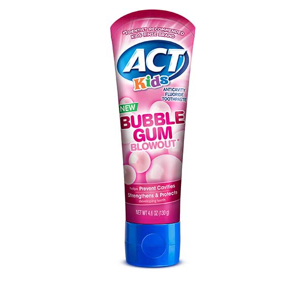 ACT Kids Anticavity Fluoride Toothpaste