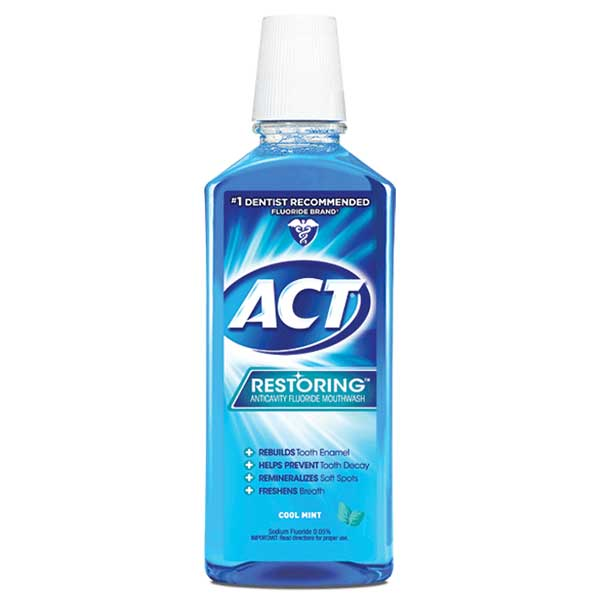 ACT® Restoring® Anticavity Mouthwash