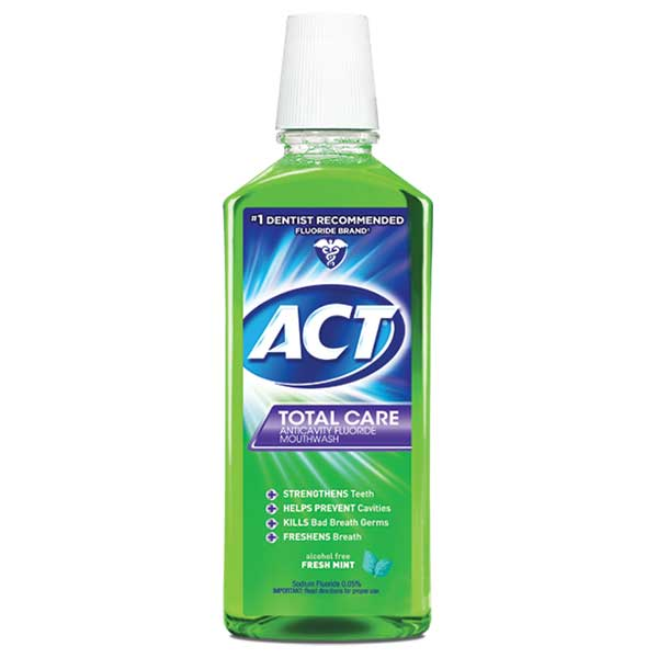 ACT® Total Care Anticavity Fluoride Rinse Fresh Mint - 18 oz