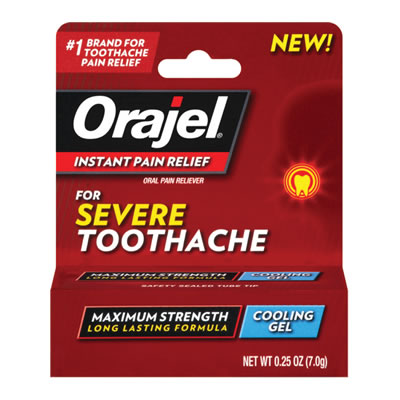Orajel Severe Pain Gel