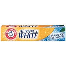 Arm & Hammer® Advance White® Baking Soda and Peroxide Toothpaste- 4.3 oz Tubes, 24/:Pkg