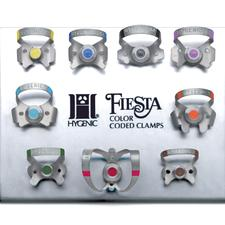 Hygenic® Fiesta® Color-Coded Clamps - Sets - Set, 9 Winged