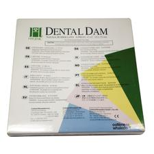 Hygenic® Latex Dental Dam - Adults, Ready Cut, 6