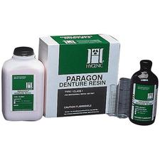 Hygenic® Paragon Denture Resin - Lab Pack Powder and Liquid - Clear 5 lb Powder and 1.25 Quarts Liquid