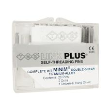 TMS® Link Plus® Self-Threading Pins - Titanium Alloy Minim® Double Shear Kits - Bulk Kit