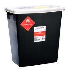 SharpSafety RCRA Hazardous Waste Containers - 12 Gallon, Sliding Lid