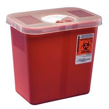 SharpStar Transportable Sharps Container- Red, 8 Quart