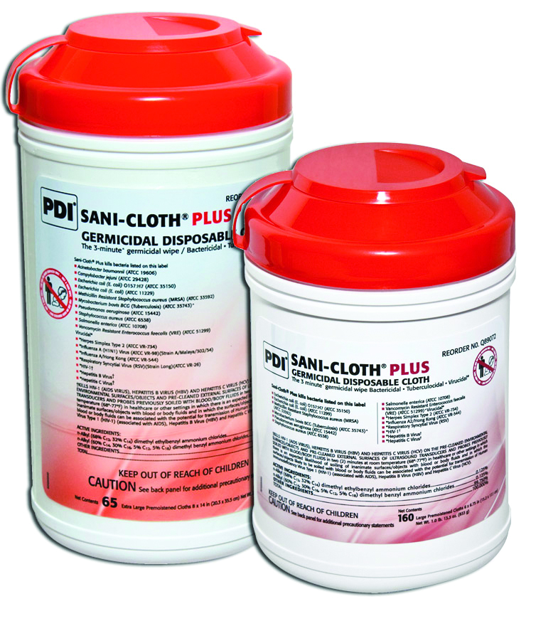 Sani-Cloth Plus Germicidal Disposable Cloth