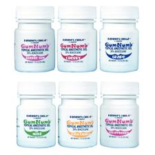 GumNumb Topical Anesthetic Gel with 20% Benzocaine - 1 oz Jar - Bubble Gum
