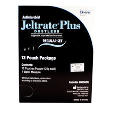 Jeltrate® Plus Antimicrobial, Dustless, Alginate Impression Material, Regular Set, Beige, Gross Package, 144 (25 g) Pouches