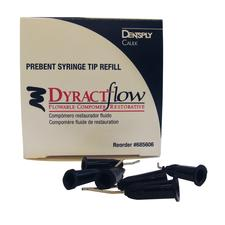 Dyract Flow Prebent Syringe Tips Refill, 50/:Pkg