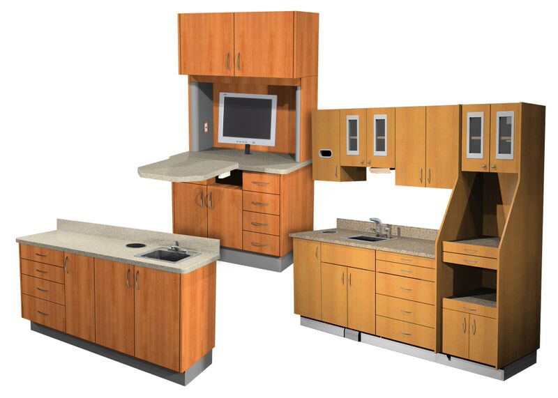 NextGen Sterilization Center and NextGen Basic Cabinets