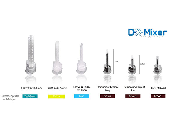 DX-Mixer Mixing Tips for Dental Impression - 50/Pkg