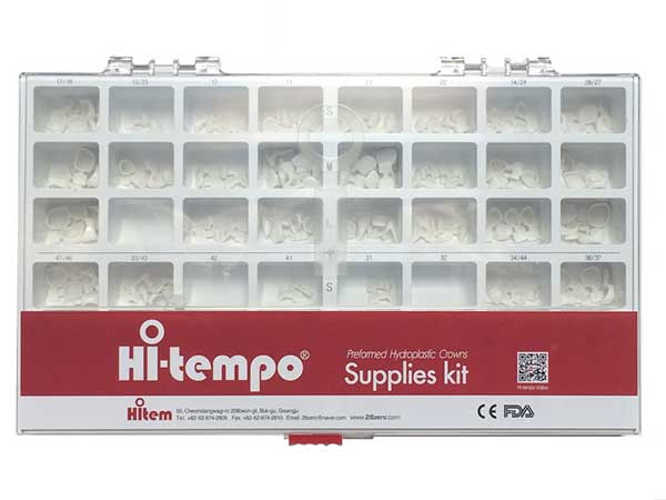 Hi-Tempo : Temporary Crown Single Unit Starter Kit (160 EA.)