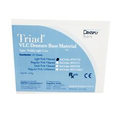 Triad® VLC Denture Base Material - 30 Sheets/:Pkg - Regular Pink Fibered