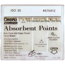 Absorbent Endodontic Paper Points