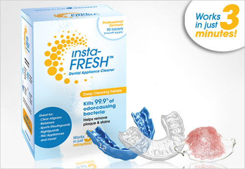 insta-FRESH Dental Appliance Cleaner