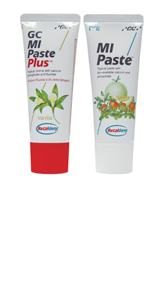 GC MI Paste and MI Paste Plus