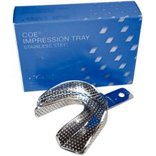 COE Impression Trays - Stainless Steel Individual Trays, Perforated - #S1