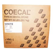 COECAL Type III Dental Stone - 25 lb, White